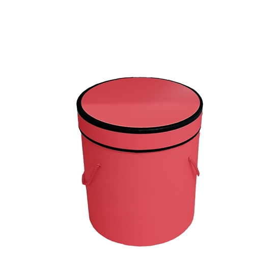 Picture of Red Cylinder Gift Box - 18 x 17 Cm