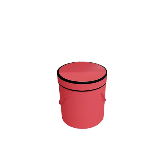 Picture of Red Cylinder Gift Box - 14 x 13 Cm