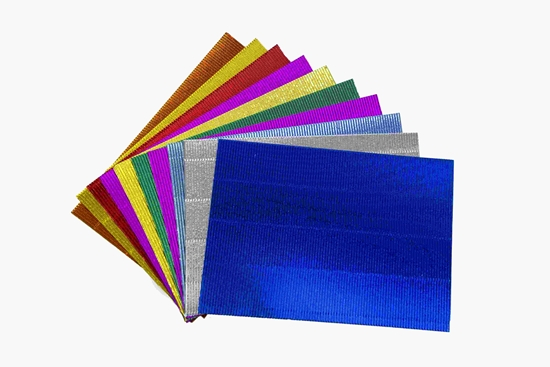 Picture of Ribbed cardboard, 10 pcs - 29 x 21 Cm