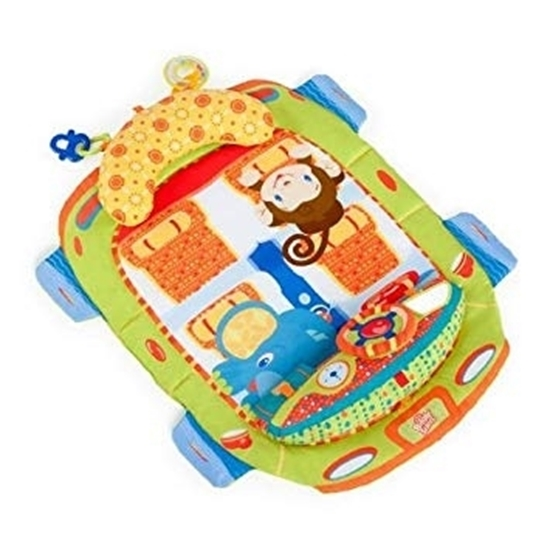 صورة سجادة على شكل كرسي سيارة للاطفال - 75 × 62 سم