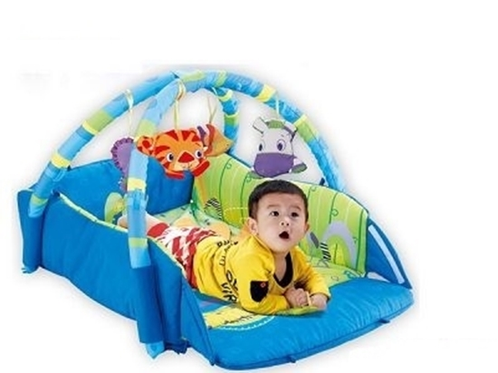 Picture of Baby Gym Mat with Edges - 113 x 94 Cm