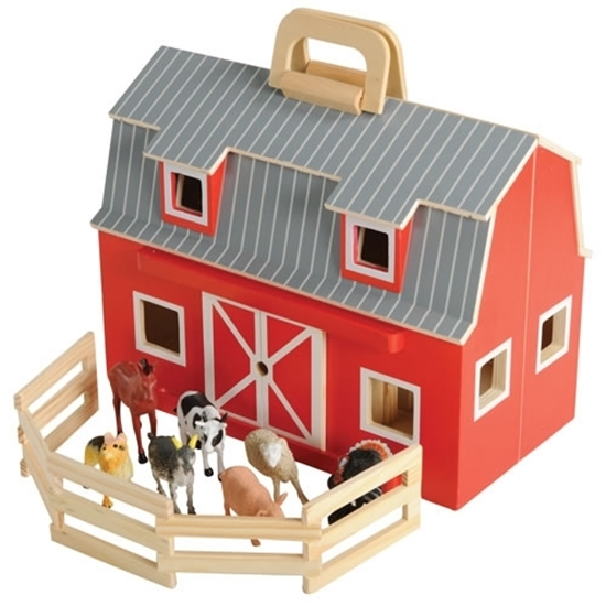 Picture of Fold and Go Mini Barn - 33 x 20 x 27 Cm