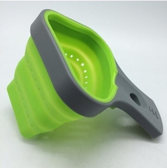 Picture of Silicone Strainer with Handle - 17 x 13 x 10.5 Cm