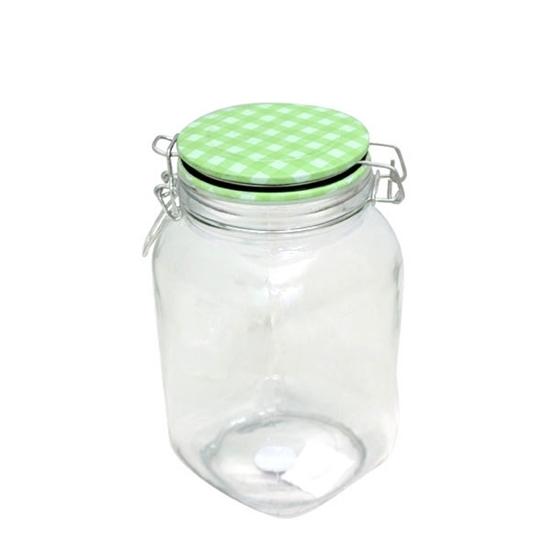 صورة Glass Jar 1.7 L - 20 x 11 Cm