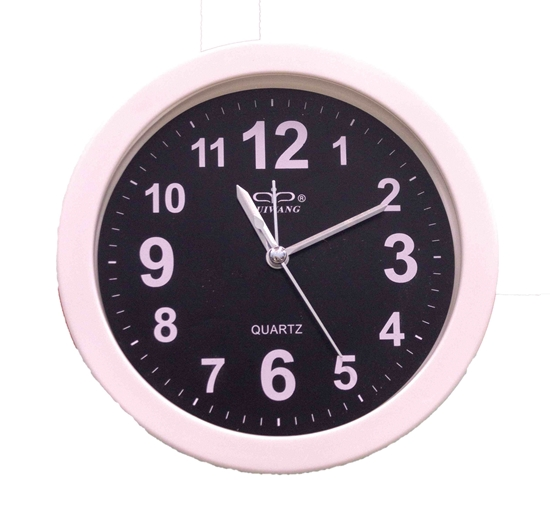 Picture of White Wall Clock - 15.3 x 4 Cm