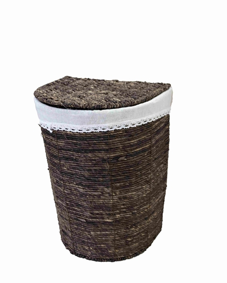 Picture of Medium Brown Basket - 37.5 x 28 x 50 Cm