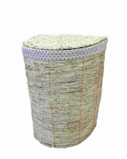 Picture of Medium Beige Basket - 37.5 x 28 x 50 Cm