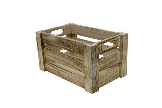 صورة Wooden Box - 36 x 26 x 18 Cm
