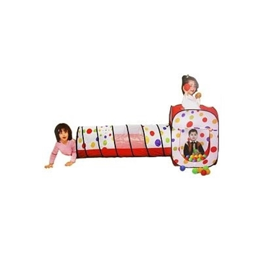 Picture of Kids Ball House with Tunnel - 50 x 50 x 17 Cm (Package Size)