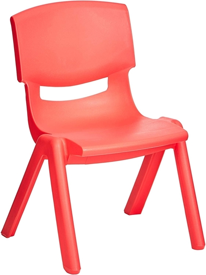 Picture of Small Kids Plastic Chair - 30 x 24 x 50 Cm