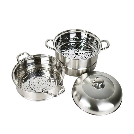 Picture of Stainless Steel Steamer - D:34 Cm