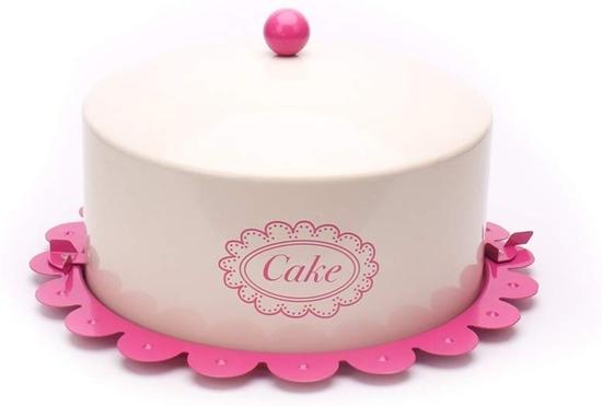 صورة Cake Tin with Lid Food Carrier - 36 x 20 Cm