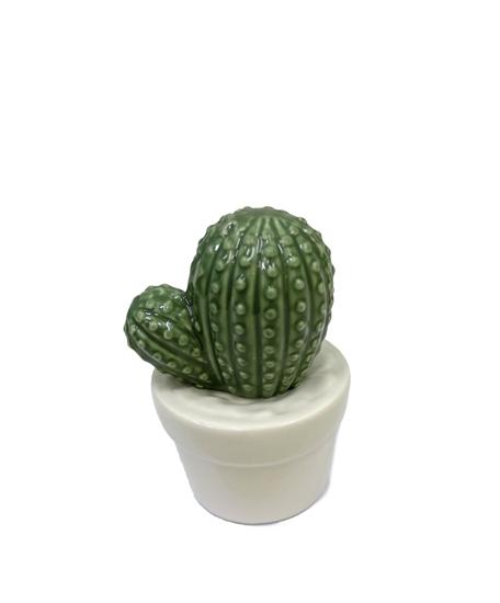 صورة Ceramic Cactus Potted Plants - 10 x 7 Cm