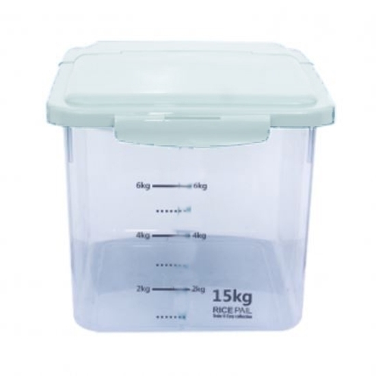 Picture of Plastic Rice Pail - 25 x 26 x 26 Cm