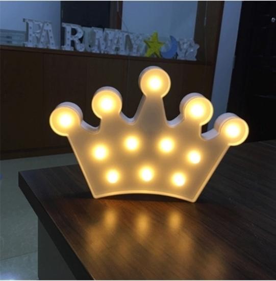 صورة LED Night Light Crown - 27 x 17 x 3 Cm