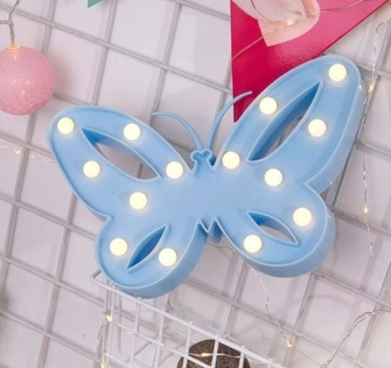 صورة LED Night Light Butterfly - 26 x 16 x 3 Cm