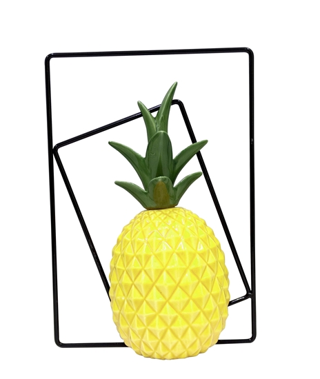 صورة Ceramic Pineapple Decorative Décor - 30 x 20 Cm