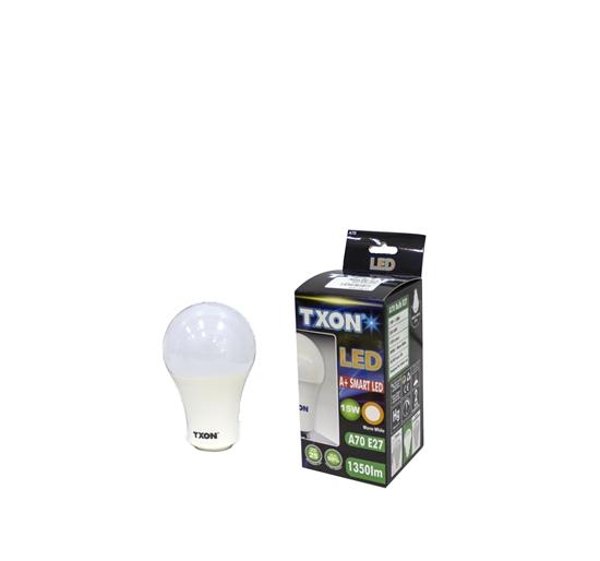 Picture of TXON Light Bulb - A70 E27 15W WL 1350LM
