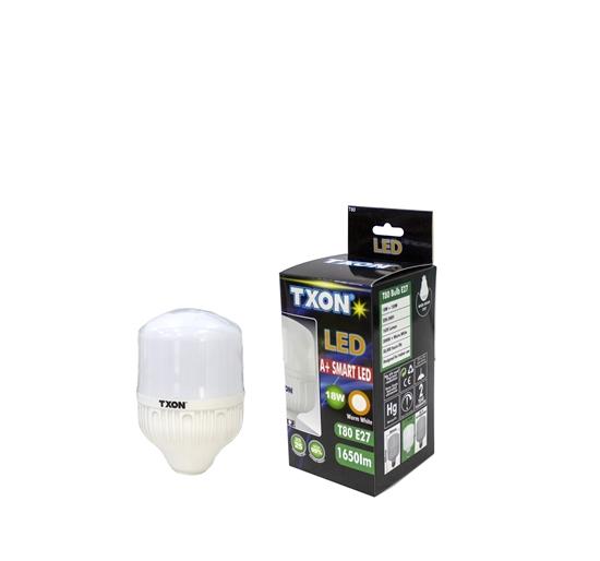 Picture of TXON Light Bulb - T80 E27 18W WL 1650 LM