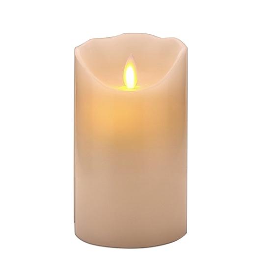 صورة Led Battery Candle Moving Flame - 15 x 7 Cm