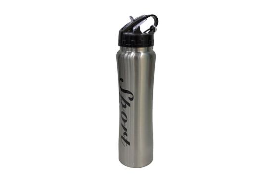 صورة زجاجة فراغية  من الستانلس ستيل - 500 مل- 27 × 7 سم
