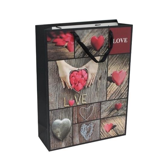 صورة حقيبة هدايا بأشكال متعددة  قياس 30 × 41.5 × 12 سم