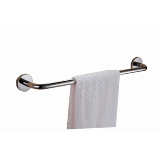 صورة Stainless Steel Wall Mounted Towel Bar - 60 Cm
