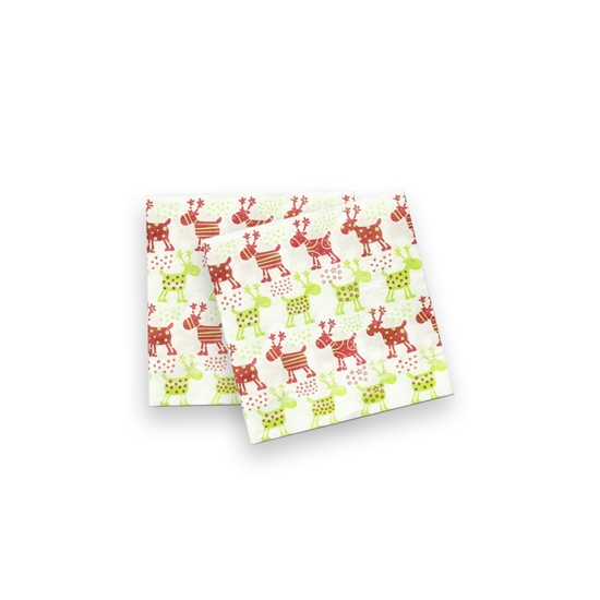 صورة XMAS Napkin Paper 20 Pcs -  16 x 16 Cm