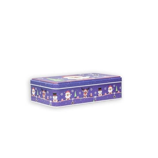 صورة Christmas Candy Tin Box - 19 x 11.5 x 5.2 Cm