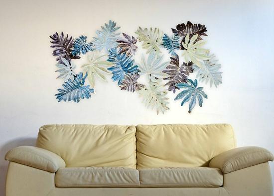 صورة Iron Wall Decoration - 140 x 68 Cm