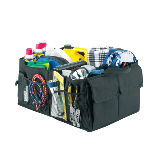 صورة صندوق تخزين للسيارة - 53 × 40 × 27 سم