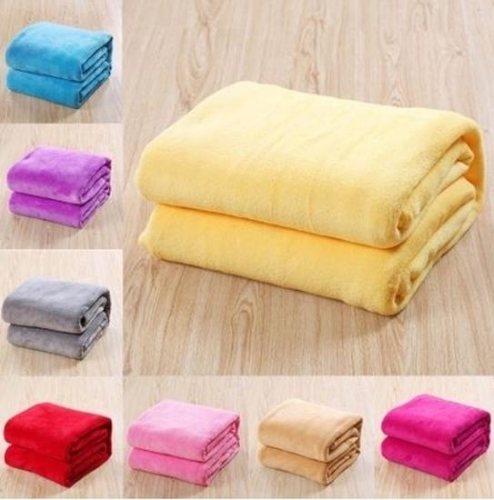 Picture of Velour Blanket - 150 x 200 Cm