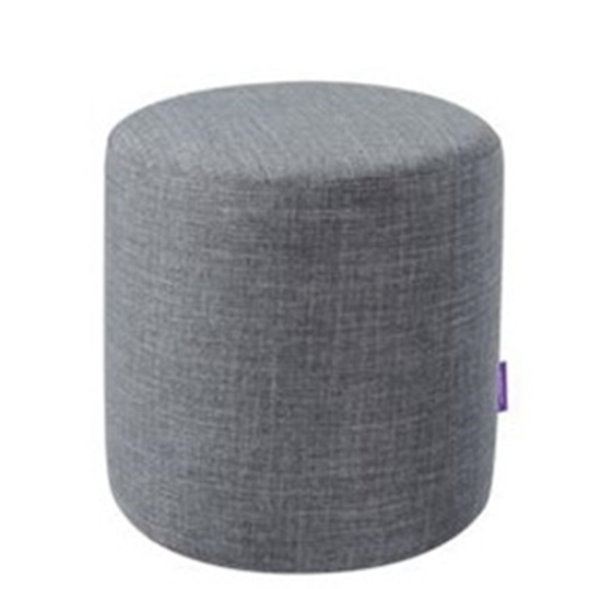 Picture of Ottoman Footstool Round Pouffe - 34 x 34 Cm