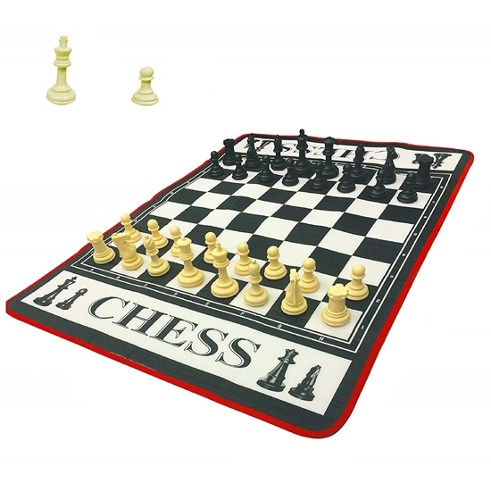 Picture of Chess Giant Game - 130 x 93 x 0.3 Cm