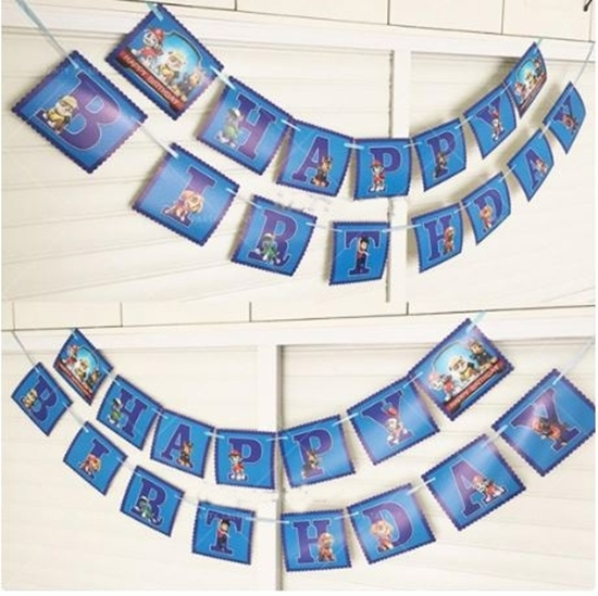 Picture of Party Banner PAW PATROL - 16 Cm