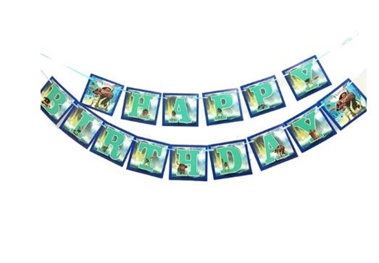 Picture of Party Banner MOANA - 16 Cm