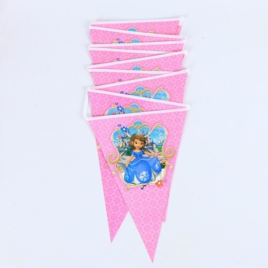 صورة Party Banner SOPHIA - 28 x 20 Cm