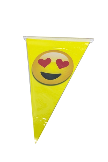 صورة Party Banner EMOJI - 28 x 20 Cm