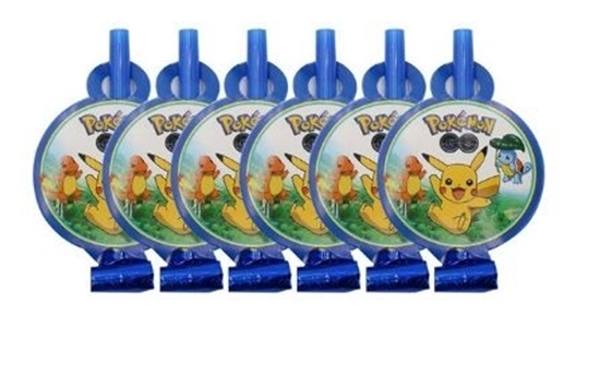 صورة Blow Outs POKEMON 10 PCS - 25 Cm