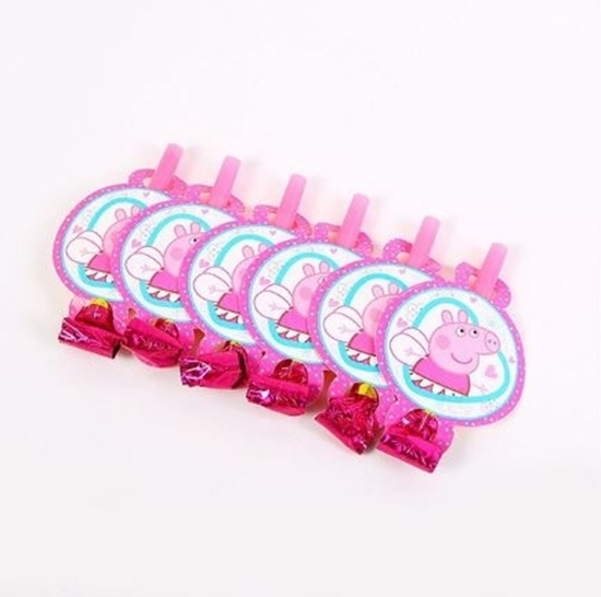 Picture of Blow Outs PEPPA PIG 10 PCS - 25 Cm