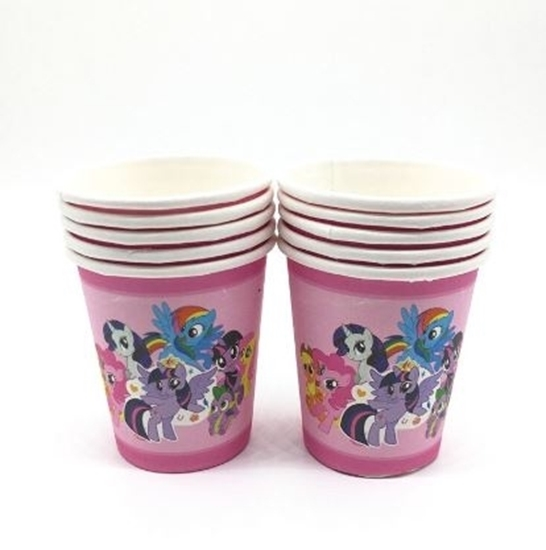 Picture of Paper Cup MY LITTLE PONY 10 PCs - 8.2 x 7.2 Cm