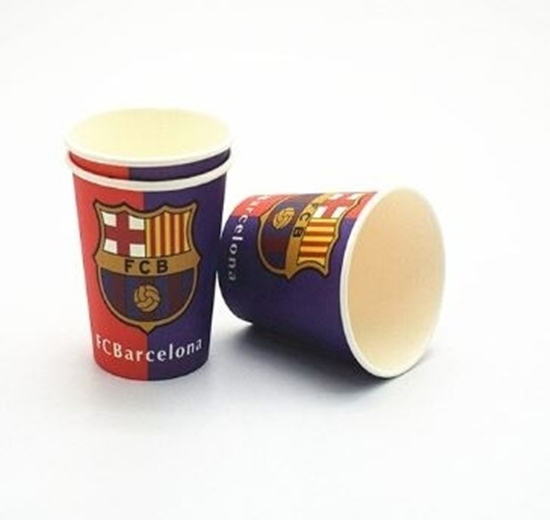 Picture of Paper Cup BARCELONA 10 PCs - 8.2 x 7.2 Cm