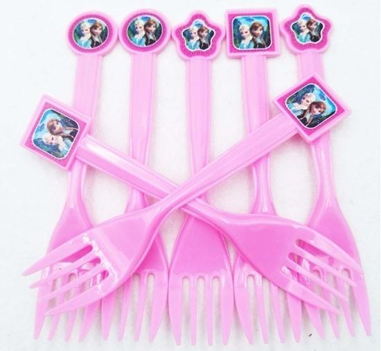 صورة Plastic Forks ELSA 10 PCS - 15 Cm