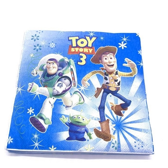 صورة Napkins TOY STORY BUZZ 20 PCS - 16.4 x 16.4 Cm