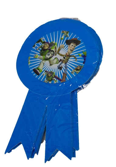 Picture of Party Badge TOY STORY BUZZ 10 PCS - 15.5 x 9 Cm