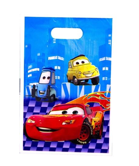 Picture of Party Bag MCQUEEN CAR 10 PCS - 25 x 16 Cm