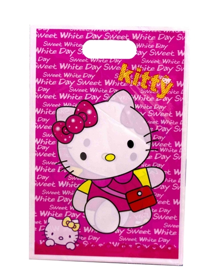Picture of Party Bag HELLO KITTY 10 PCS - 25 x 16 Cm