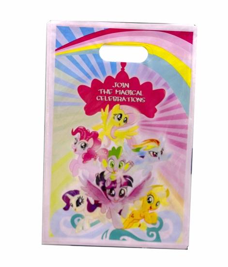 Picture of Party Bag MY LITTLE PONY 10 PCS - 25 x 16 Cm