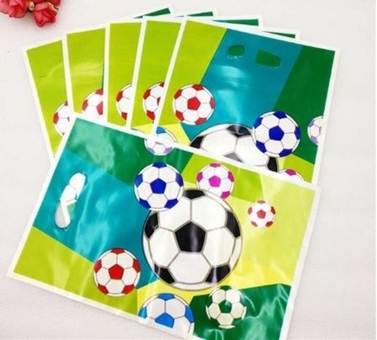 صورة Party Bag FOOTBALL 10 PCS - 25 x 16 Cm