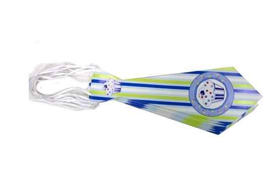 صورة Party Tie BLUE CUPCAKE 10 PCs - 31.5 x 11 Cm